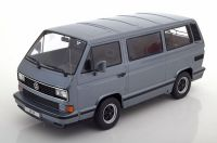 KK Scale Volkswagen Porsche T3 B32 Carrera Bus 1984 Metallic Grey 1:18